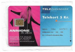 Denmark - Tele Danmark (chip) - Callannione - TDP195 - 01.1998, 800ex, 5kr, NSB - Danemark