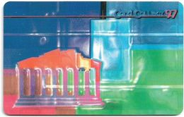 Denmark - Tele Danmark (chip) - Cardcollect 97 Athens - TDP144 - 06.1997, 2.000ex, 5kr, Used - Danemark