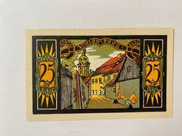 Allememagne Notgeld Zeulenroda 25 Pfennig - [ 3] 1918-1933 : République De Weimar
