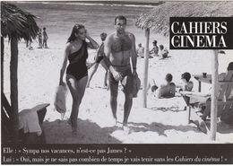 """D2240 CARTE COMMANDE POUR """"LES CAHIERS DU CINEMA"""" - IMAGE TIRÉE D'UN DES FILMS """"JAMES BOND 007"""" - SEAN CONNERY - Cinema"""