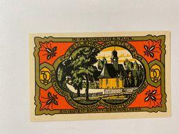 Allememagne Notgeld Zeulenroda 50 Pfennig - [ 3] 1918-1933 : République De Weimar