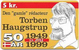 Denmark - Tele Danmark (chip) - Samler Genbrugssproejten - TDP306 - 04.1999, 600ex, 5kr, Used - Danemark
