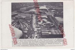 Au Plus Rapide Exposition Belgique Bruxelles Brussels 1958 Vue Générale Beau Format - Plaatsen
