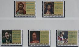 Jubilee. Pope Paul VI. Painting Le Greco, Wayden, Christ 1970 Mi 564-568 Yv 505-509 POSTFRIS / MNH / ** VATICAN VATICAAN - Neufs