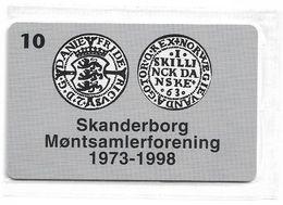 Denmark - Tele Danmark (chip) - Skanderborg Coin Collectors - TDP197 - 06.1999, 1.300ex, 10kr, NSB - Danemark