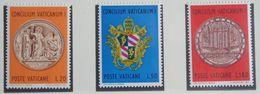 100 ANS DU CONCILE VATICAN I 1970 Mi 561-563 Yv 502-504 POSTFRIS / MNH / ** VATICANO VATICAN VATICAAN - Neufs