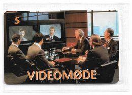 Denmark - Tele Danmark (chip) - Videomoede - TDP188 - 06.1999, 900ex, 5kr, NSB - Danemark