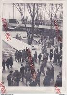 Au Plus Rapide Exposition Belgique Bruxelles Brussels 1958 Le Pavillon Des Etats-Unis Beau Format - Lieux