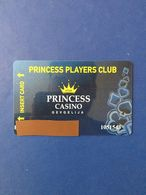 CARD PRINCESS CASINO GEVGELIJA - Telefonkarten