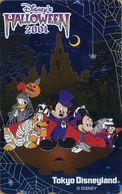 "Japan - Japanese Disney Phone Card.  Télécarte Disney Du Japon. ""Mickey & Ses Amis - Halloween 2001"".  (NEUVE - UNUSED). - Disney"