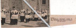 HEIKRUIS..1938.. TE HEIKRUIS WIJDDE Z. EM. KARDINAAL VAN ROEY DE NIEUWE ST. MARIAKERK - Vieux Papiers