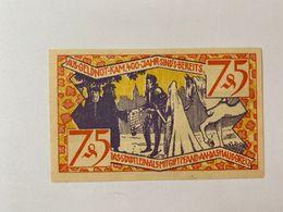 Allememagne Notgeld Zeulenroda 75 Pfennig - [ 3] 1918-1933 : République De Weimar