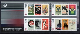 GB 2013 Mini Sheet Celebrating 150th Anniversary Of The London Underground - Hojas Bloque