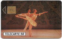 Monaco - MF8 - Les Ballets De Monte-Carlo - Cn. 508 B, 06.1990, 50Units, 20.000ex, Used - Monaco