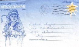 AUSTRALIA - AEROGRAMME 1987 - ITALY /ak995 - Aerogramas