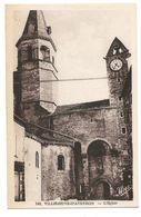VILLENEUVE D'AVEYRON - L'Eglise - Francia