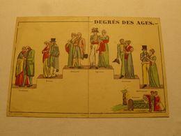 Le Degré Des Ages. Printel Paris. 36 X 24 Cm. - Lithographies