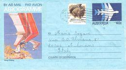 AUSTRALIA - AEROGRAMME 1985 - ITALY /ak996 - Aerogramas