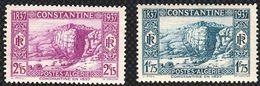 Année 1937-N°133/134 Neufs**MNH : Centenaire De Constantine (2 Valeurs Sur 4) - Algerien (1924-1962)