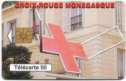 Monaco - MF48 (002) - Croix-Rouge Monegasque - Cn. Bxxxxx002, 04.1998, 50Units, 50.800ex, Used - Monaco