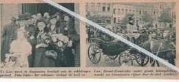 LIER.. 1937.. DIAMANTEN BRUILOFT BIJ DE ECHTELINGEN VAN DESSEL -  HENDRICKX - Vieux Papiers
