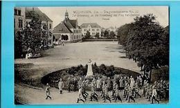 68----RARE---MULHOUSE---MÜLHAUSEN Els--Dragonerkaserne--parade--voir 2 Scans - Mulhouse