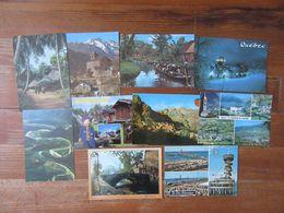 Lot De 10 Cartes étrangères      Afrique    Espagne   Canada    Pays Bas  Ect... - Cartes Postales