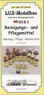 Catalogue LUX-MODELLBAU 2013 Reinigungs Und Pflefemittel - Libros Y Revistas