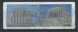 TT-/-140-.LISA - 58 Eme SALON PHILATELIQUE D'AUTOMNE, PARIS ATHENES, OBL.,  Liquidation - 1999-2009 Viñetas De Franqueo Illustradas