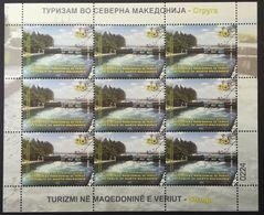 MACEDONIA NORTH 2020 - TOURISM IN MACEDONIA STRUGA SS MNH - Macédoine