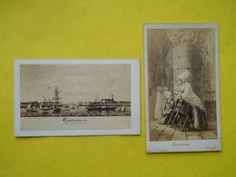 Photo CDV 19ème Siecle ,Cliché Roger ,CONCARNEAU Par LEMONNIER ,avec Tampon - Lieux