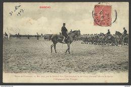 C.P.-- OF WAR -- FRANCE--23 Mai 1907,par Le General Pau , Commandant Le 20 Corps D'armee--start 1e - Francia