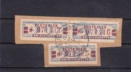 DDR, Dienst: ZKD 3x Nr. 21 M I, Gest. (K 6278) - Service
