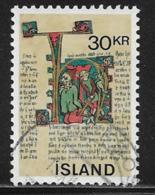 Iceland Scott #419 Used Manuscript, 1970 - 1944-... Repubblica