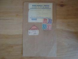 ENVELOPPE HENRI DANGLES EDITEUR PARIS 1945 - Marcofilia (sobres)