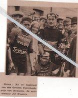 WIELERSPORT..HEMIXEM..1931.. DEN GROTE NIJVERHEIDSPRIJS DE OVERWINNAAR JEF WOUTERS - Vieux Papiers
