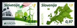 Slovenie Slovenia Europa 2016 ** Think Green  Velo Bicycle - Europa-CEPT