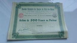 FERMIERE DU CASINO DE VALS LES BAINS (1931) - Acciones & Títulos