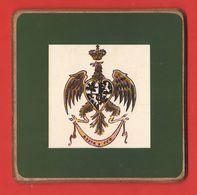 Cavalleria Aosta Cavallegeri Segnaposto Motto  Aosta D' Fer Anni 60 - Militaria