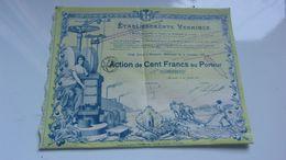 établissements VERMINCK (1917) Marseille - Acciones & Títulos