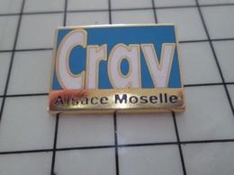 1220 Pin's Pins / Beau Et Rare / THEME : MARQUES / CRAV ALSACE MOSELLE Par MDB - Marques