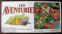 JEU DE SOCIETE - LES AVENTURIERS - Edition Touret 1970 - Autres