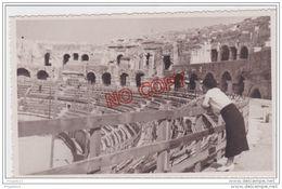 Au Plus Rapide Photo Format Carte Photo Nîmes Les Arènes Années 30 Excellent état - Lieux