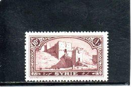 SYRIE 1925 * - Syria (1919-1945)