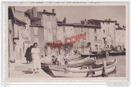 Au Plus Rapide Photo Format Carte Photo Martigues Années 30 Excellent état - Places