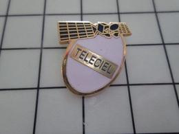 1220 Pin's Pins / Beau Et Rare / THEME : ESPACE / TELECIEL SATELLITE - Space