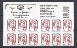 Carnet Marianne De Ciappa Trésors De La Philatélie .LP 20g - Usage Courant