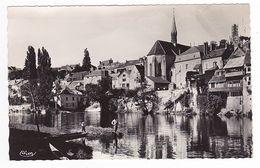 36 ARGENTON Sur Creuse Vers Chateauroux L'Eglise St Benoit Les Bords De Creuse VOIR ZOOM Pêcheurs Barque VOIR DOS - Chateauroux