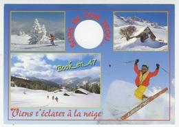 {59731} Super Les Vacances à La Neige , Multivues ; Skieurs - Winter Sports