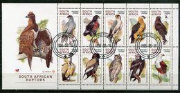 Südafrika South Africa Mi# 1140-9 Gestempelt(FDC/SST)/used/CTO - Fauna Birds - Zonder Classificatie